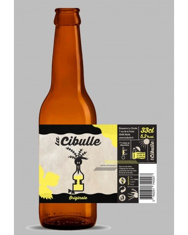 Cibulle Originale blonde 5.2% - 33cl