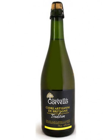 Cidre BIO Gorvello Tradition 4.5% - 75cl