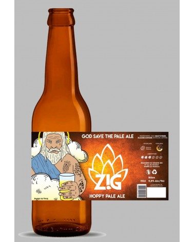 ZIG 33CL - GOD SAVE THE PALE ALE 5,5%
