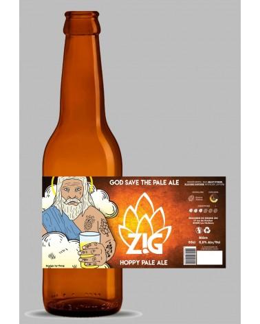 ZIG 75CL - GOD SAVE THE PALE ALE 5,5%