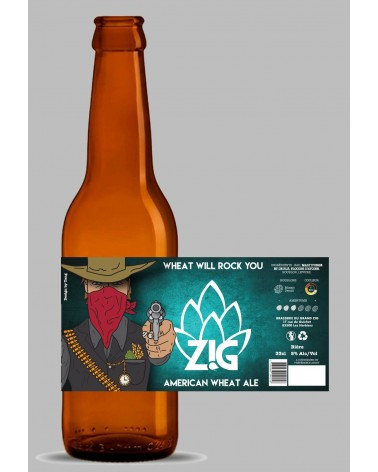 ZIG 75CL - WHEAT WILL ROCK YOU 5%