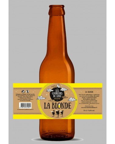 COUREURS DE LUNE 75CL BLONDE 5%