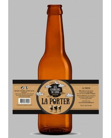 COUREURS DE LUNE 75CL PORTER 6.2%
