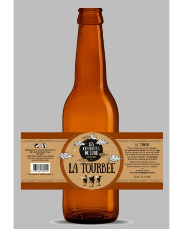 COUREURS DE LUNE 75CL LA TOURBEE 5%