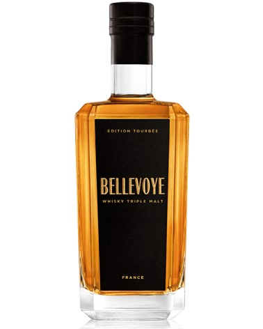 Bellevoye Noir Edition Tourbée 43% - 70 cl