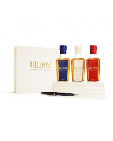 Bellevoye Coffret Tricolore 3 X 20 cl