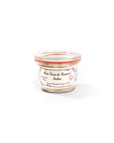 Foie Gras Entier Nature - Ernest Soulard - Pot Weck 50G