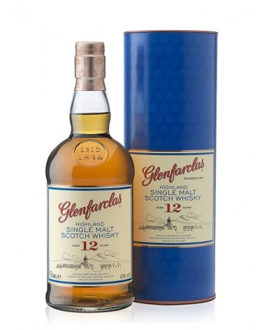 Glenfarclas single malt 12 ans 43% - 70cl
