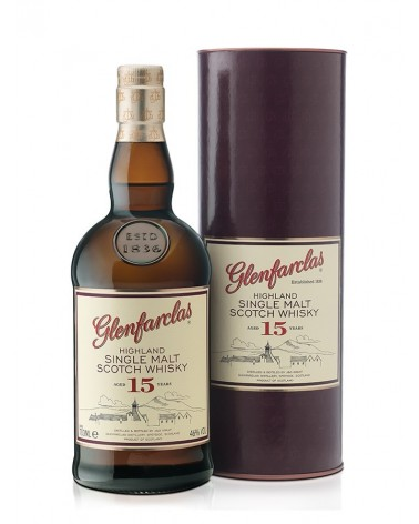Glenfarclas single malt 15 ans 46 % - 70cl