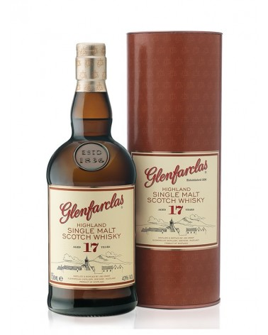 Glenfarclas single malt 17 ans 43 % - 70cl