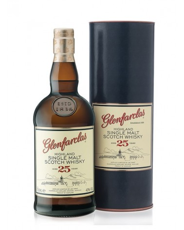 GLENFARCLAS SINGLE MALT 25 ANS 43% - 70cl