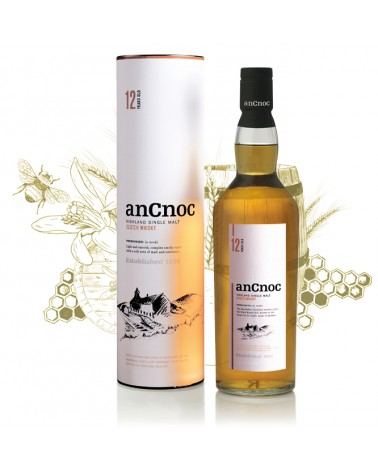 Ancnoc 12 ans - Single Malt - 40% - 70cl