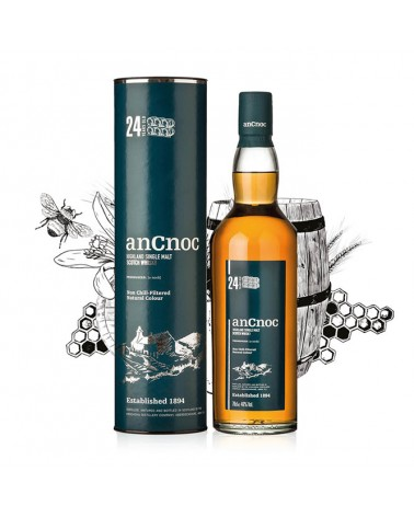Ancnoc 24 ans - single malt - 46% - 70cl