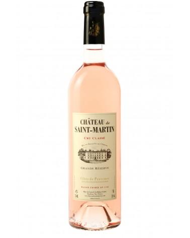 Grande reserve - Cru classé Provence - Chateu de saint Martin - rosé 75cl