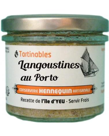 Tartinable langoustines au porto - Conserverie Hennequin - 100gr