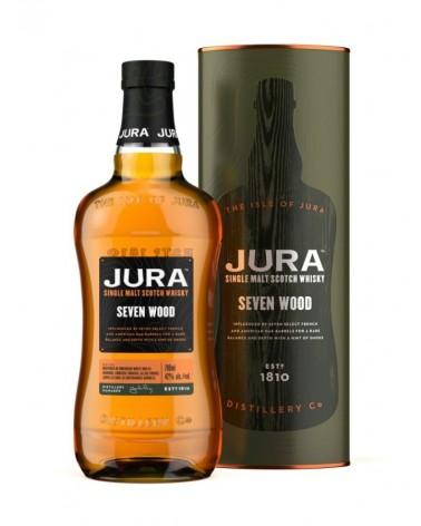 Jura - seven wood - whisky single malt - 42% - 70cl