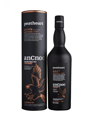Ancnoc peatheart - single malt whisky - 46% - 70cl